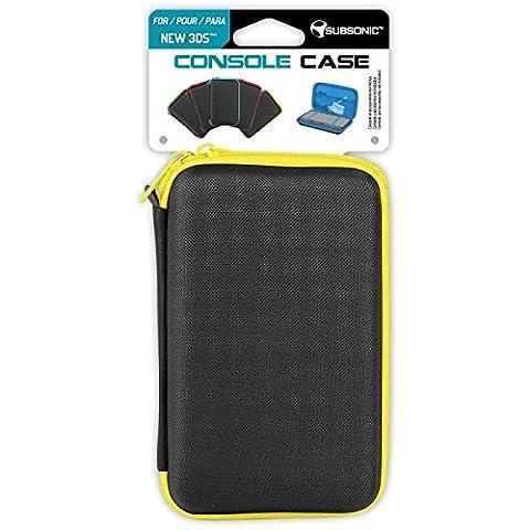 Subsonic Yellow Console CASE Rangement Console compatible Nintendo Nouvelle 3DS