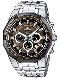 Casio Edifice Herrenuhr Analog Quarz mit Massives Edelstahlarmband – EF-540D-5AVEF