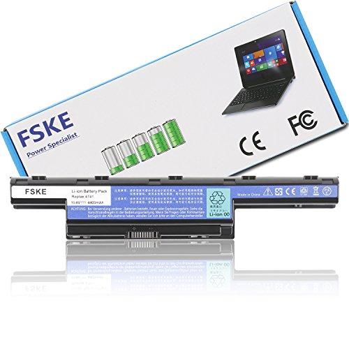 FSKE® AS10D31 AS10D51 AS10D81 AS10D75 AS10D73 AS10D61 AS10D41 AS10D3E AS10D71 Akku für ACER Aspire E1-531 E1-571 V3-771G V3-772G 5742G 7741G 5750 5733 5551 4741 Notebook Battery,10.8V 4400mAh 6-Zellen