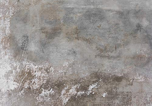 wandmotiv24 Fototapete Rustikal Beton-wand Grau XXL 400 x 280 cm - 8 Teile Fototapeten, Wandbild, Motivtapeten, Vlies-Tapeten Stein, Mauer M1439