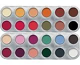 Grimas Eyeshadow Rouge Doppel-Palette FK 24 x 2g farbintensiv
