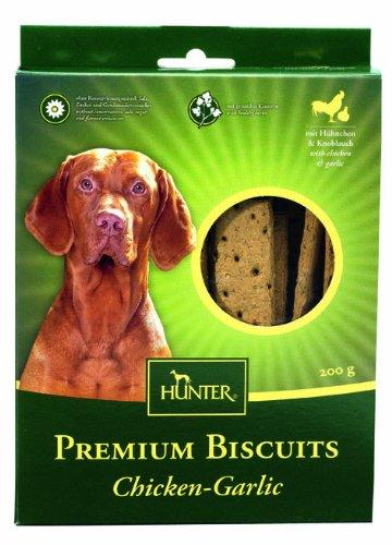 Artikelbild: Hunter Premium Biscuit Hundekeks Chicken Garlic, 200 g, 4er Pack (4 x 200 g)