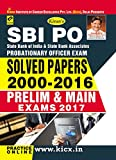 SBI and SBI Associates Probationary Officer Pre. & Main Exam Solved Papers 2000-2016 - 1841