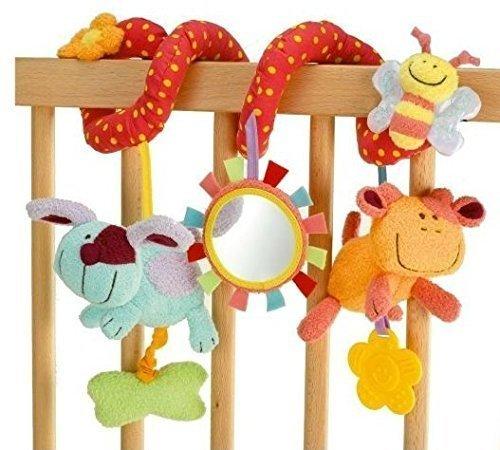 StillCool - Alta Calidad Juguetes Colgantes Espiral de Animales para Cuna Cochecito Carrito bebés niños niñas