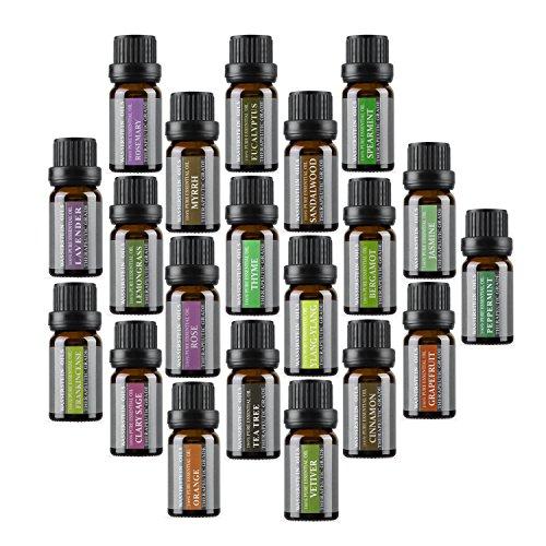 Top 20 Aromatherapie 100% Pure Therapeutische Grade Basic Essential Öl Set von Wasserstein - Thymian Dusche