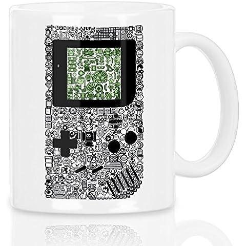 style3 8-Bit Game Taza con motivo videoconsola portátil videojuego boy pixel nerd mando