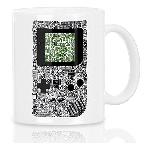 style3 8-Bit Game Motivtasse controller videospiel boy pixel nerd konsole
