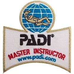 Padi Master Instructor Patch brodé Fer à Repasser/à Coudre Emblème Badge Applique