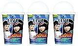 Schwarzkopf Live Color XXL Colour Foam - Black Velvet Crush 100 - Pack of 3