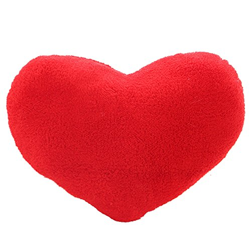 Gosear Liebe Herz Form Plüsch Spielzeug Haus Büro Sofa Kissen Kissen Kropf Valentinstag Tag Geburtstag Geschenk Hell Rote