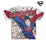 Camiseta Manga Corta Superman T.5