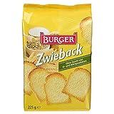 Burger Crosser Zwieback, 225 g
