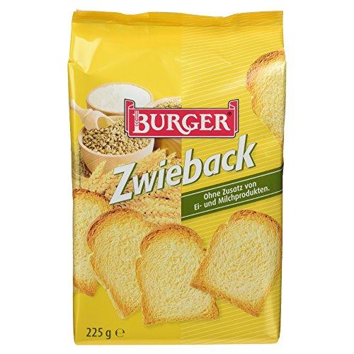 Burger Crosser Zwieback, 225 g Test