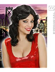 WIDMANN b0741–Femme Perruque cheveux longs Cosmopolitan–Taille Unique Adulte en boîte