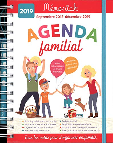 Agenda Familial memoniak 2018 - 2019 - In Was Zu Tun Paris