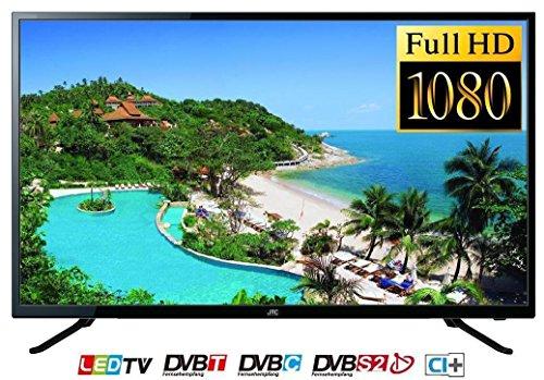 JTC 4040TT 101 cm (40 Zoll) Fernseher (Full-HD, Triple Tuner, USB-Mediaplayer)