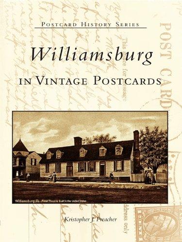 Williamsburg in Vintage Postcards (Postcard History) (English Edition)