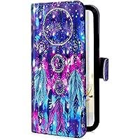 Uposao Handyhülle Huawei Mate 10 Lite Handytasche Bookstyle Klappbar Flip Case Bling Glitzer Tasche Brieftasche Lederhülle Leder Handy Schutzhülle Cover mit Magnetverschluss,Glänzend Sterne