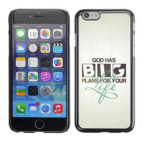 FJCases Christliche Zitate Bibel Gott Jesus Harte Hülle Schutzhülle Tasche für Apple iPhone 7 Plus / iPhone 8 Plus