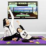 79b16950b449 Estera de Baile Doble Yoga Máquina de Juego somatosensorial Alfombra de PU  Antideslizante, TV + Interfaz USB, Descarga ilimitada de Juegos de Canciones