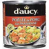 d'aucy Poêlée de Porc à La Parisienne 290 g - Lot de 6