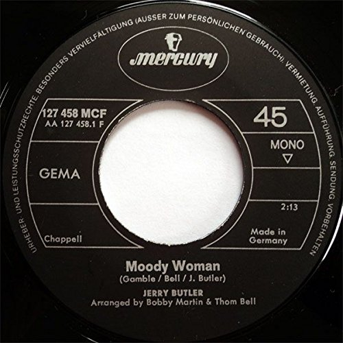 Womens Butler (Jerry Butler - Moody Woman - Mercury - 127 458 MCF)