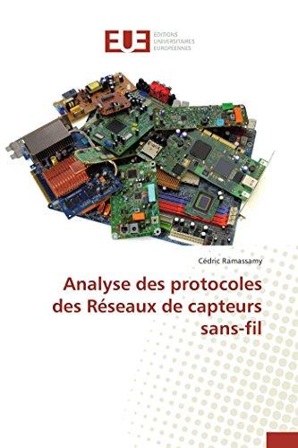 Analyse des protocoles des réseaux de capteurs sans-fil par Ramassamy-C