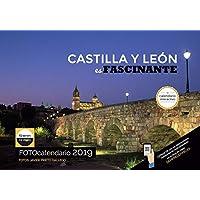 Calendario de pared 2019 español INTERACTIVO (códigos QR)/ espectaculares fotografías y 12 propuestas de viaje por Castilla y León/Paisajes/Mucho espacio para apuntar/Hojas de 34 x 24 cm.