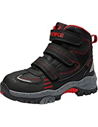 Kids Climbing Boot Hiking Shoes Waterproof Platform Anti-Slip Snow Boots