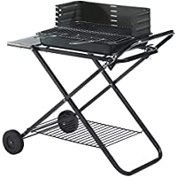 DSHBB Grill Grill Regale, Tragbarer Grill, Feuer Grill Stand, Outdoor-Strand Garten Picnicking Camping