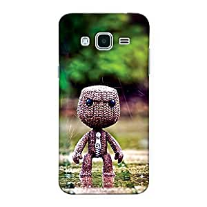 CrazyInk Premium 3D Back Cover for Samsung J3 - Angry Toy