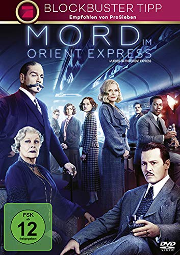 Mord im Orient Express [DVD] Express Maske