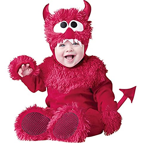 InCharacter Luxus Baby Kostüm 6055 'Lil' Devil' (Small)