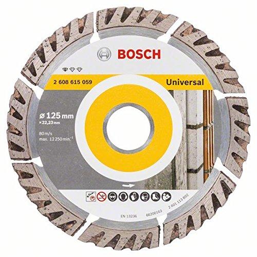 Bosch 2 608 615 059 Diamanttrennscheibe Standard für Universal DIA-TS 125x22,23