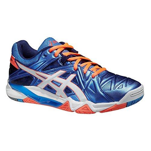 Shoes GEL-SENSEI 6 POWDER BLUE / WHITE / FLASH CORAL 15/16 Asics