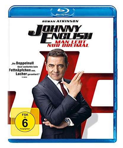 Johnny English - Man lebt nur dreimal [Blu-ray]