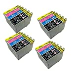 PerfectPrint - 20 compatibles cartuchos de tinta 16XL Para Impresora Epson WorkForce Printers WF-2010W WF-2510WF WF-2520NF WF-2530WF WF-2540WF
