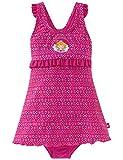 Schiesser Mädchen Einteiler Aqua Prinzessin Lillifee Badeanzug, Rot (Fuchsia 508), 98 (Herstellergröße: 098)