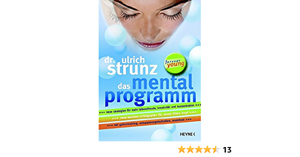 Ulrich strunz kritik dr Strunz Erfahrungen