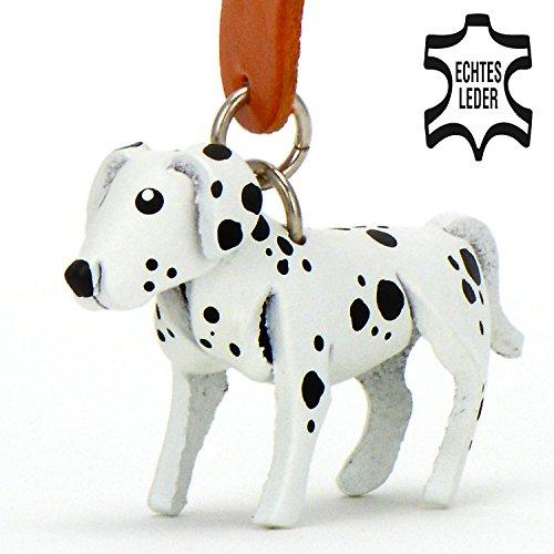 Dalmatiner Daisy - kleine Hunde Schlüssel-Anhänger aus Leder, eine tolle Geschenk-Idee für Frauen und Männer in Hunde-Zubehör, Dalmatian, Pongo-Perida-101-Dalmatiner, stofftier, 101 dalmatiner, kuscheltier, kalender 2017, schleich, accessoires, autoaufkleber, - Leder-jacke-kostüm-ideen