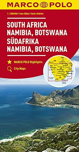 Descargar Libro Afrique du Sud : Namibie, Botswana 1 : 2 Mio de Collectif