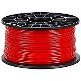 NuNus 3D Printer Impresora PLA Filamento 3,00mm 1KG (rojo)