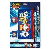 Yo-Kai Watch–0Set di cancelleria con trasporto, 0(CYP Imports gs-406-yk)