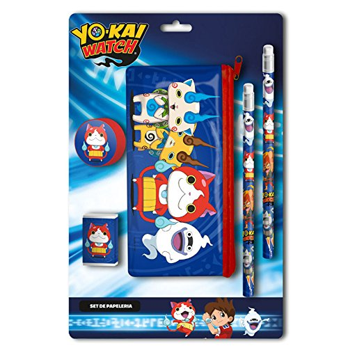 Yo-Kai Watch – 0 Set di cancelleria con trasporto, 0 (CYP Imports gs-406-yk)