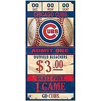 WinCraft Chicago Cubs MLB Ticket Schild