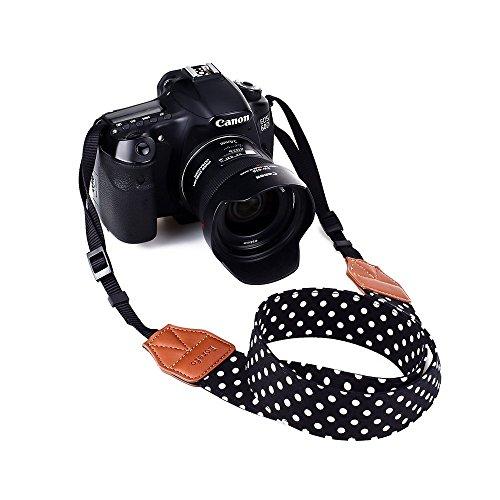 Digital Sangle pour Appareil Photo épaule cou sangle ceinture vintage Caméscope universel pour tous les appareils DSLR Nikon Canon Sony Olympus Pentax Samsung