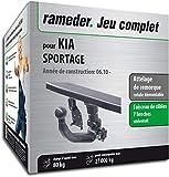 Attelage Amovible pour KIA SPORTAGE + faisceau 7 broches (143682-08751-1-FR)