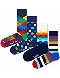 Happy Socks - Chaussettes basses - Homme multicolore Mehrfarbig
