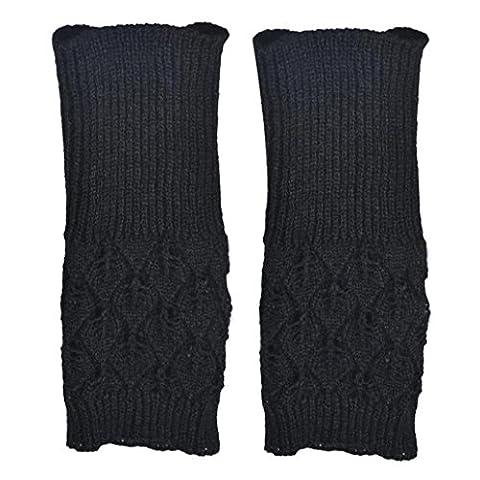 Handschuhe Transer® Mädchen Fashion Winter Warm Handschuhe Damen Luxuriöses PU-Leder