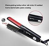 MEIP Heißer Verkauf Negative Ionen Lockiges Haar Glattes Haar Elektrische Schiene Für Zwei Zwecke LED-Haarglätter Mit Digitalanzeige